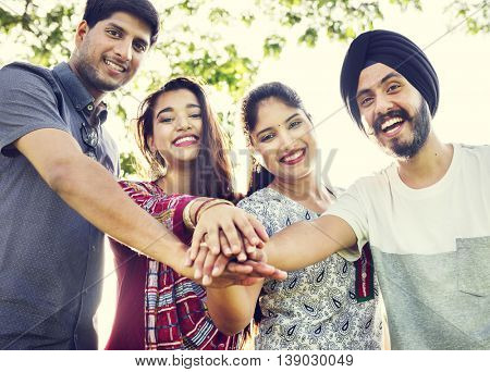 Indian Ethnicity Middle Eastern Asian Community Concept
