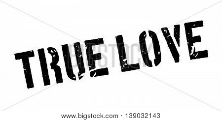True Love Rubber Stamp