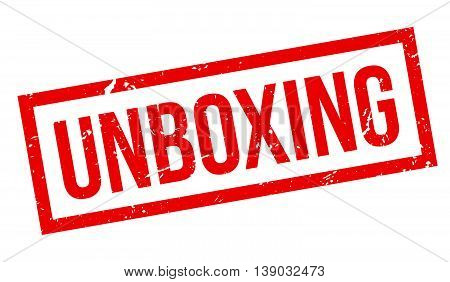 Unboxing Rubber Stamp