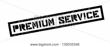 Premium Service Rubber Stamp