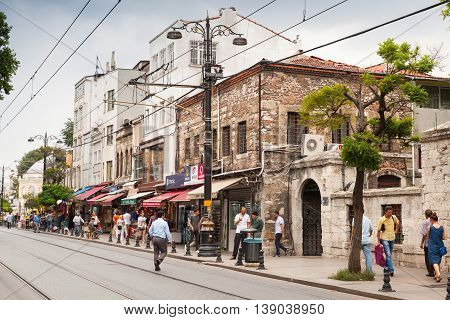 Old Central District Of Istanbul City, Streetview