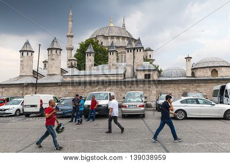 Nuruosmaniye Mosque In Istanbul