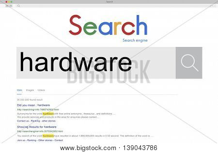 Hardware Computer Programming Technology Tools Concept