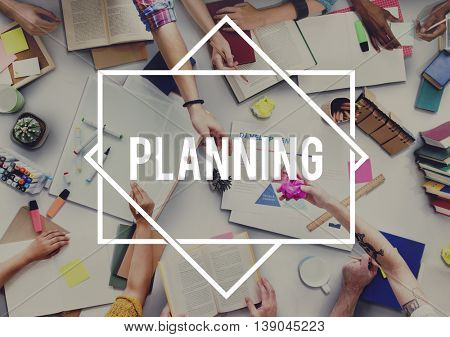 Planning Research Strategy Tactic Vision Concept