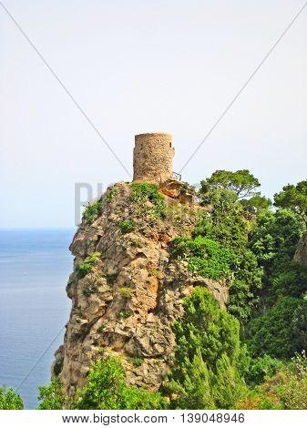 Torre del Verger - northwest coast of Majorca near Banyalbufar Sierra de Tramuntana mountains