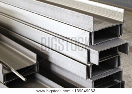 metal profile channel for use in structures warehouse
