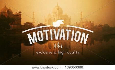 Motivation Inspiration Inspire Encourage Motivate Concept