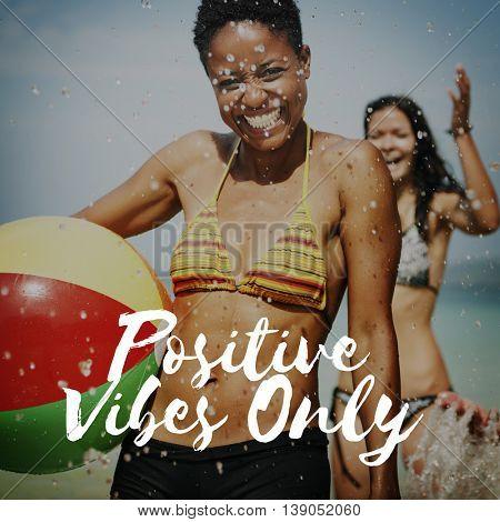 Positivity Choice Attitude Focus Happiness Inspire Concept