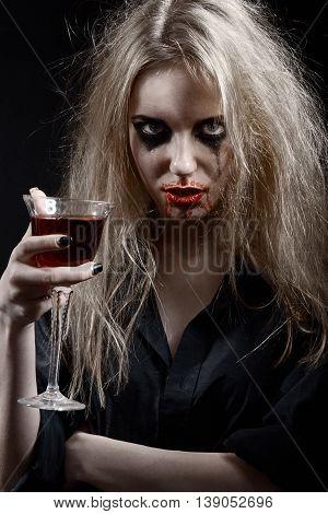 Blond Witch Portrait