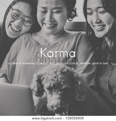 Karma Predestination Positive Chance Concept