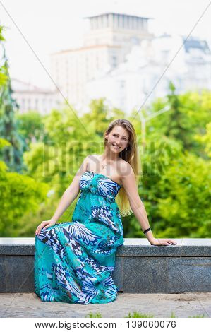 Cheerful Young Lady
