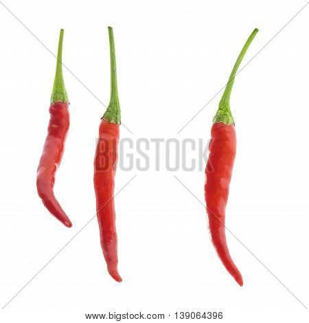 Red Chili Cayenne Fresh Texture Food Ingredient