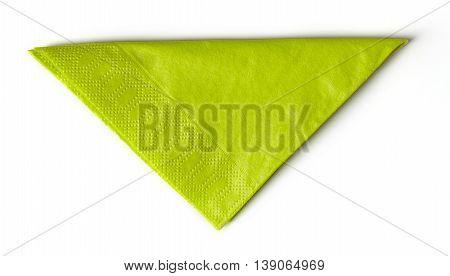 Green Paper Napkin