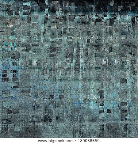 Distressed texture, faded grunge background or backdrop. With different color patterns: gray; black; blue; cyan