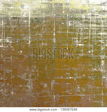 Grunge antique frame, vintage style background. With different color patterns: yellow (beige); brown; gray; green; white