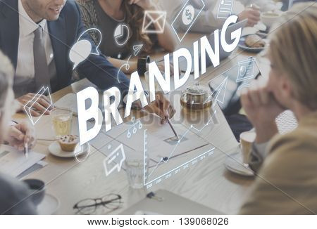 Corporate Management Strategy Solution Branding Concept