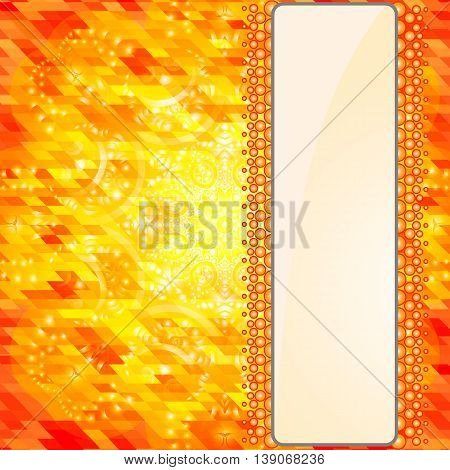 Geometric background for design. Vertical banners set with polygonal triangles. Polygon background