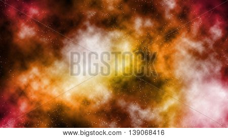 Colorful galaxy smog abstract background in colourful tone