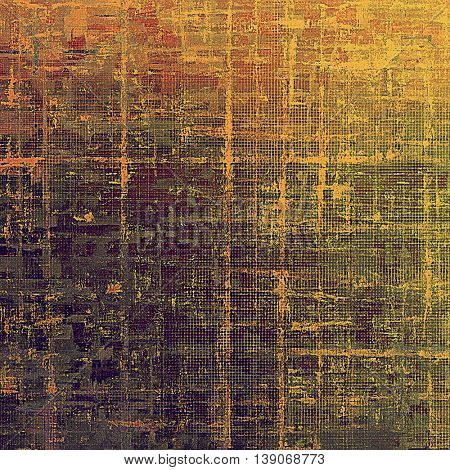 Grunge background with vintage style graphic elements, retro feeling composition and different color patterns: yellow (beige); brown; gray; red (orange); purple (violet); pink