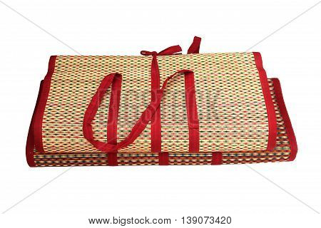close up Mat Reed on isolated white