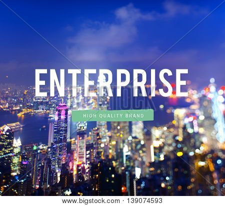 Business Enterprise Industry Company Operation Concept