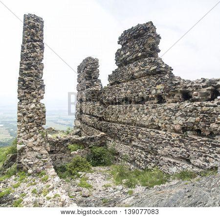 Anevo Fortress in Stara planina near Sopot central Bulgaria Europe