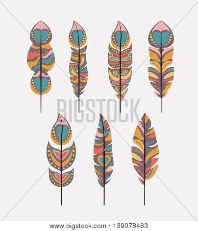 boho style  isolated icon design, vector illustration  graphic