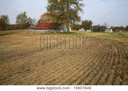 Newly tilled