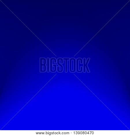 Gradient blue. Color transition from bright to dark. Gradient light. Gradient spot.