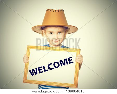 Text  Welcome.