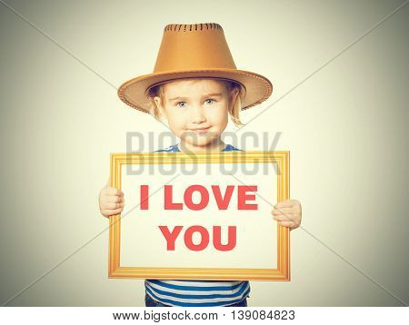 Text I Love You.