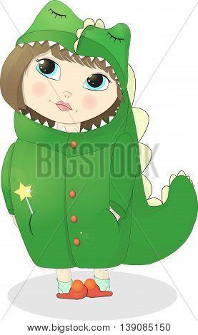Girl Dragony go to the festive masquerade