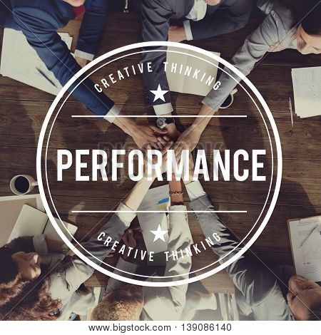 Performance Accomplishment Development Skill Concept
