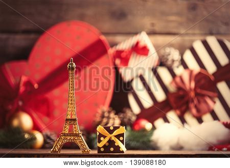 Eiffel Tower Shaped Toy And Gift