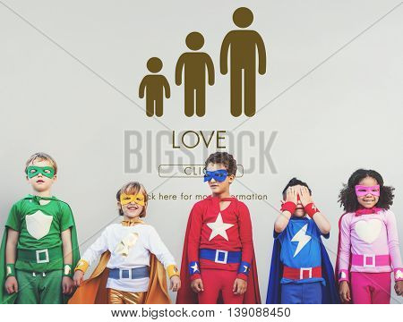 Love Family Generations Togetherness Relationship Concept