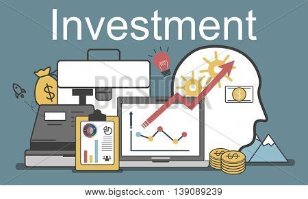 Investment Accounting Finance Auditing Banking Concept