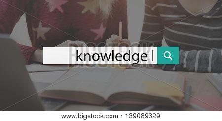 Education Knowledge Learn High School Homework Concept