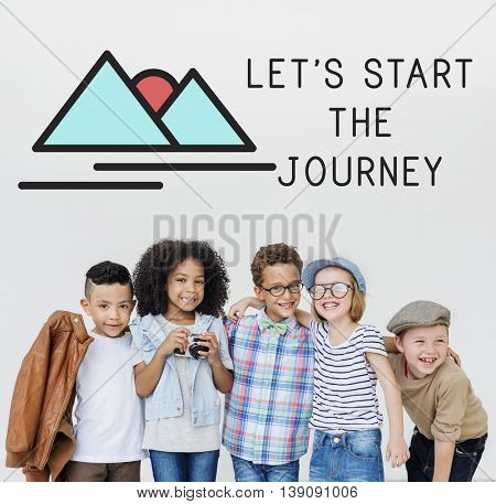 Let's start the journey graphic with kids