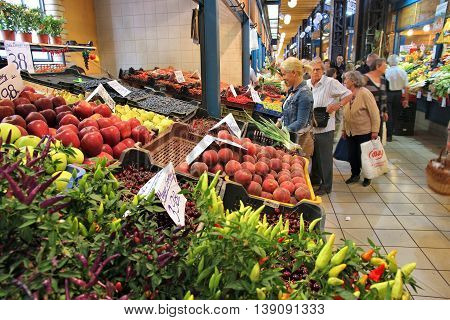 Market In Hungary