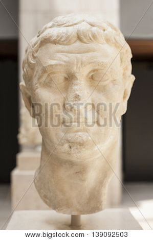 Bust of the Roman General Mark Antony