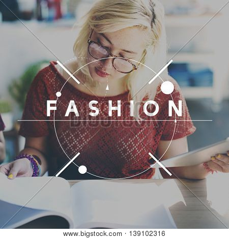 Fashion Style Clothing Glamour Trend Concept