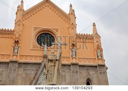Saint Francesco Cathedral exterior. Gaeta - Italy