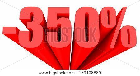 Discount 350 Percent Off Sale.