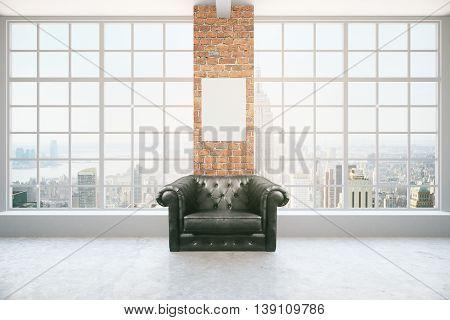 Armchair In Interior