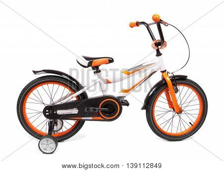 bicycle for children isolated on white background