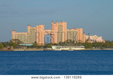 Atlantis Paradise Island Resort In Nassau, Bahamas.