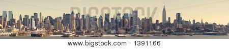 Midtown Manhattan Panorama