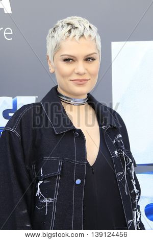 LOS ANGELES - JUL 17:  Jessie J at the 'Ice Age: Collision Course' at the 20th Century Fox Lot on July 17, 2016 in Los Angeles, CA