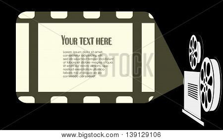On the image is presented screen is in the cinema