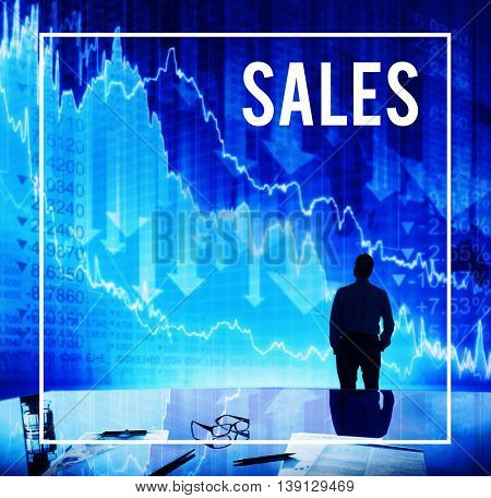 Sales Retail Selling Income Commerce Concept